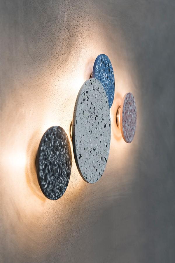 Bentu terrazzo wall light