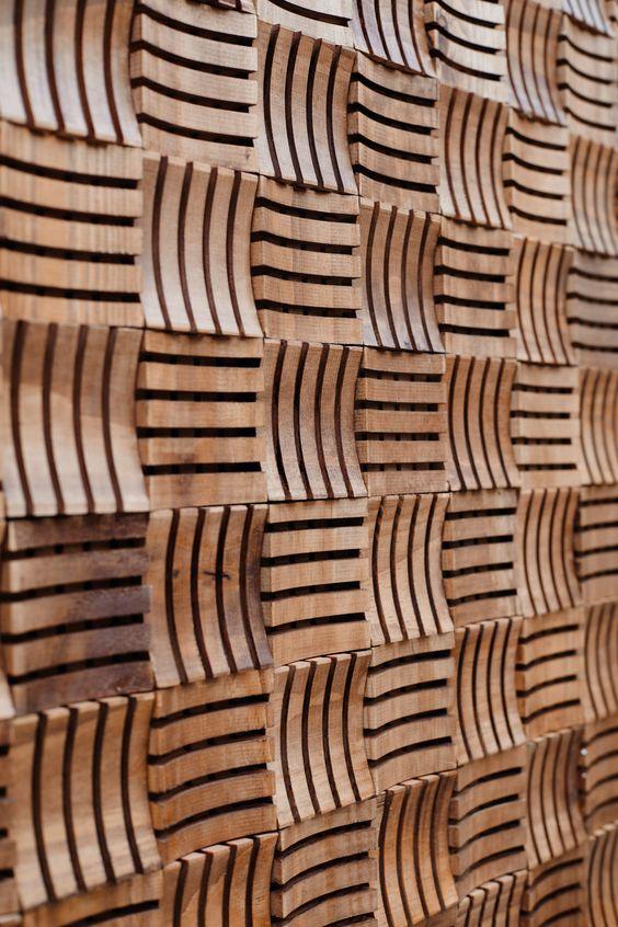 Mosaic wood tiles