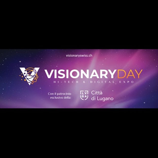 Come and visit us at our booth at Visionary Day in Lugano!! . . #visionaryday #visionarydaylugano #visionaryday2019 #innovation #visionary #thefuture #innovate