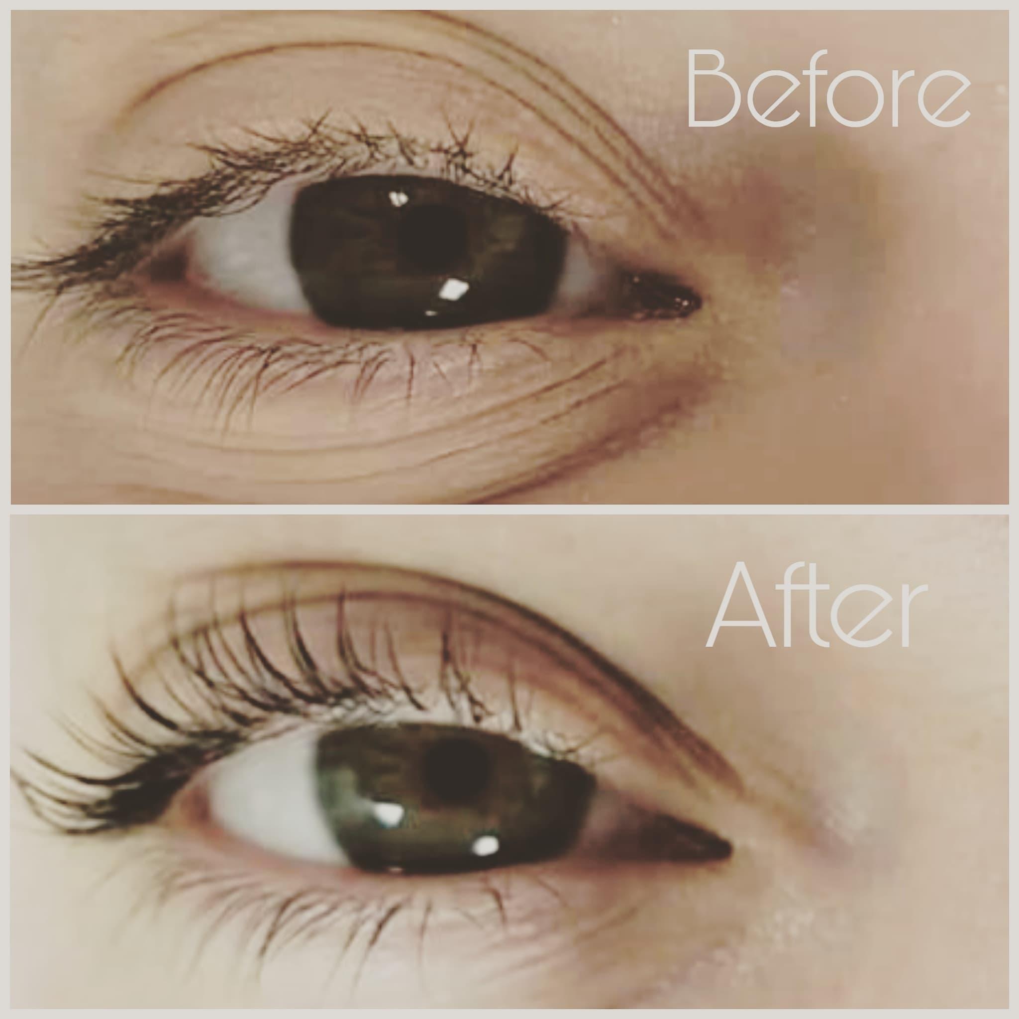 Eye Lash Lift and Tint