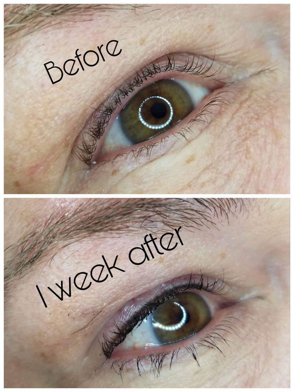 Permanent Makeup lash enhancement