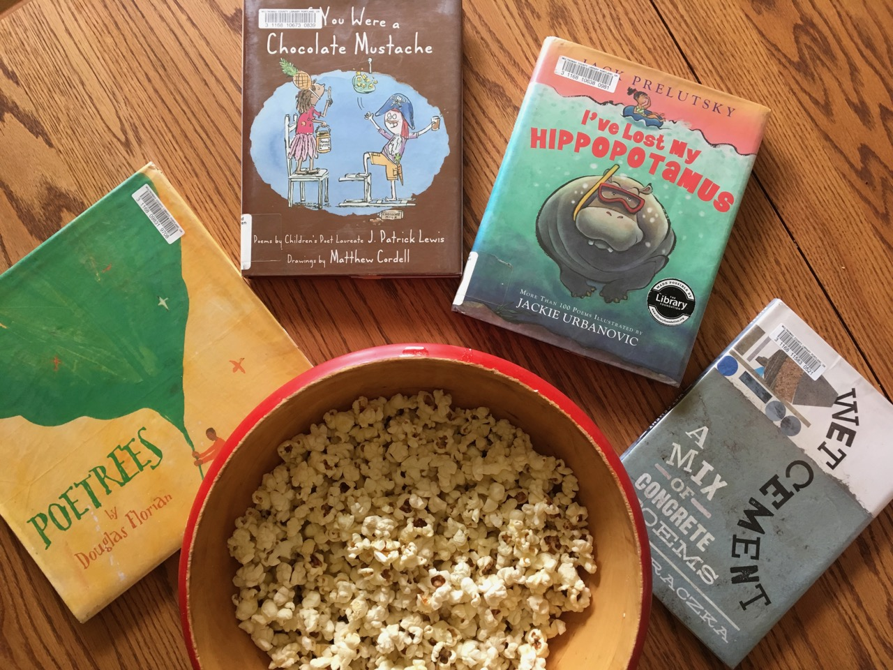 Popcorn and Poems!