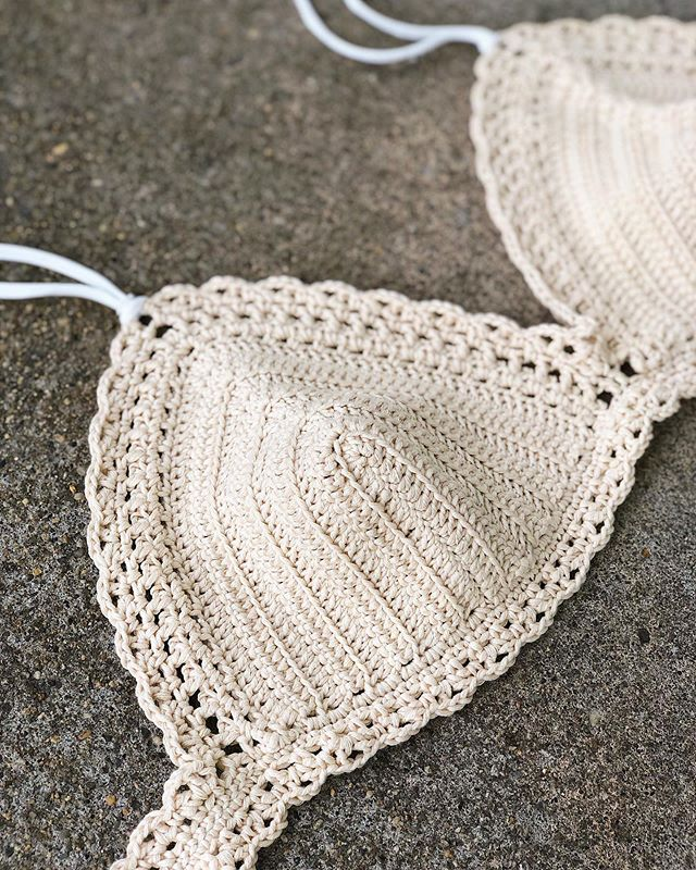 I guess I'm trying to hold on to summer because it's mid August and I've still got these #MarinaBikiniTop cuties on repeeeeat ☀️ ••• Pattern: Marina Bikini Top by @capitanauncinocrochet Yarn: #ThePimaCotton by @weareknitters • • • #LarJcrochets #crochet #crochetaddict #crochetersofinstagram #instacrochet #thehooknookers #crochetlife #makersgonnamake #makerstribe #crochetgirlgang #crochetallday #crochetbikinitop #weareknitterscotton