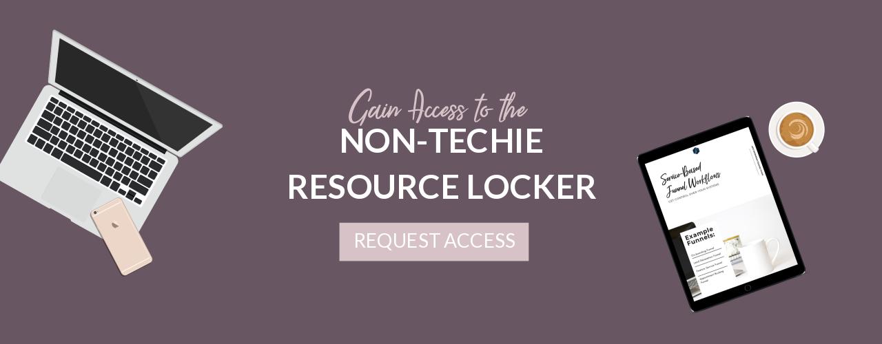 Non-Techie Resource Locker™