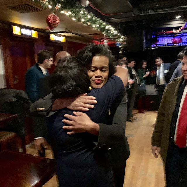 A great night celebrating @andreastewartcousins2018!  It was an honor to serve as your appointee as a Commissioner of the Joint Committee on Public Ethics. Can't wait to see what you accomplish! #dawn4ny #supportblackwomen