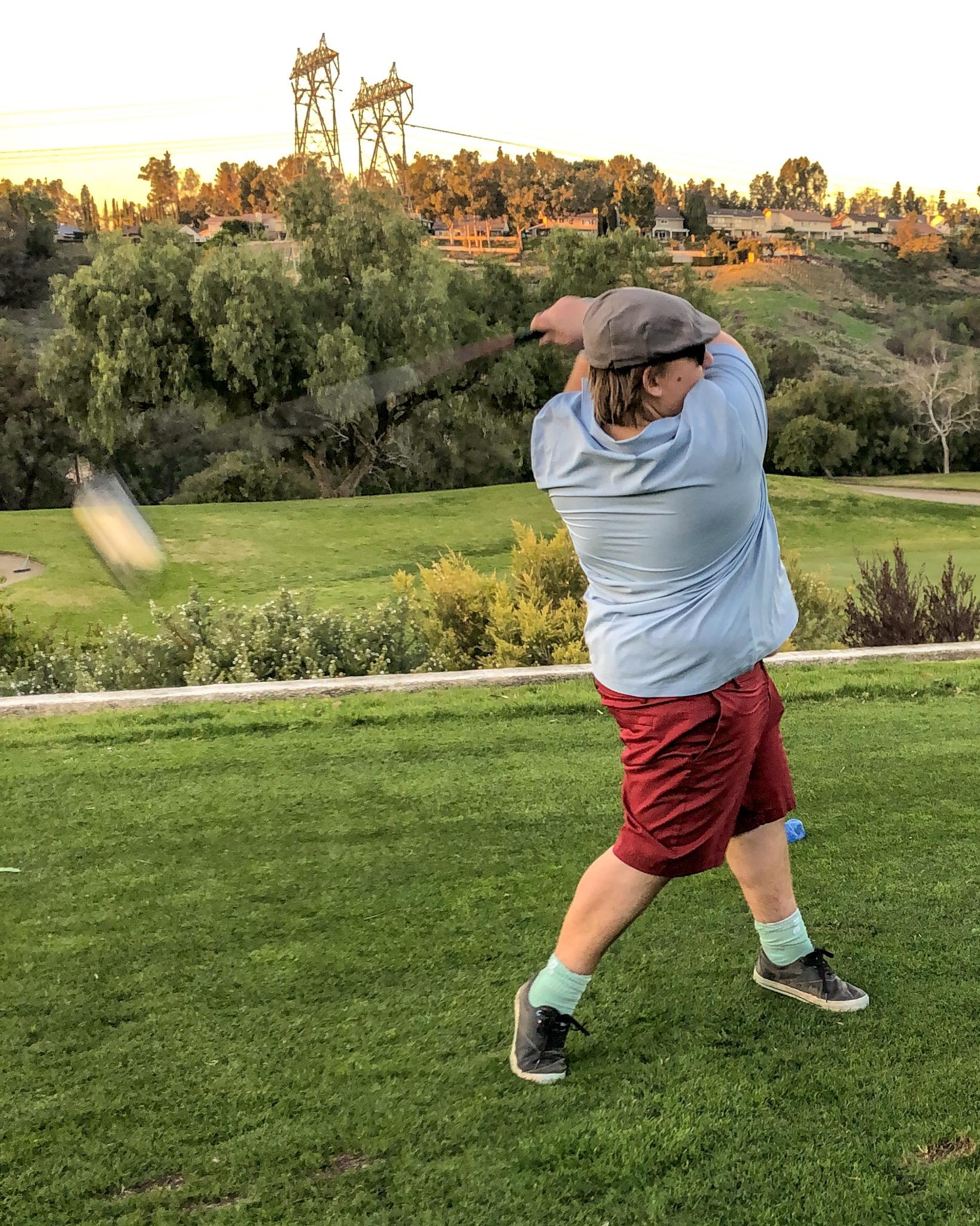 Zach Birthday Golfing.JPG