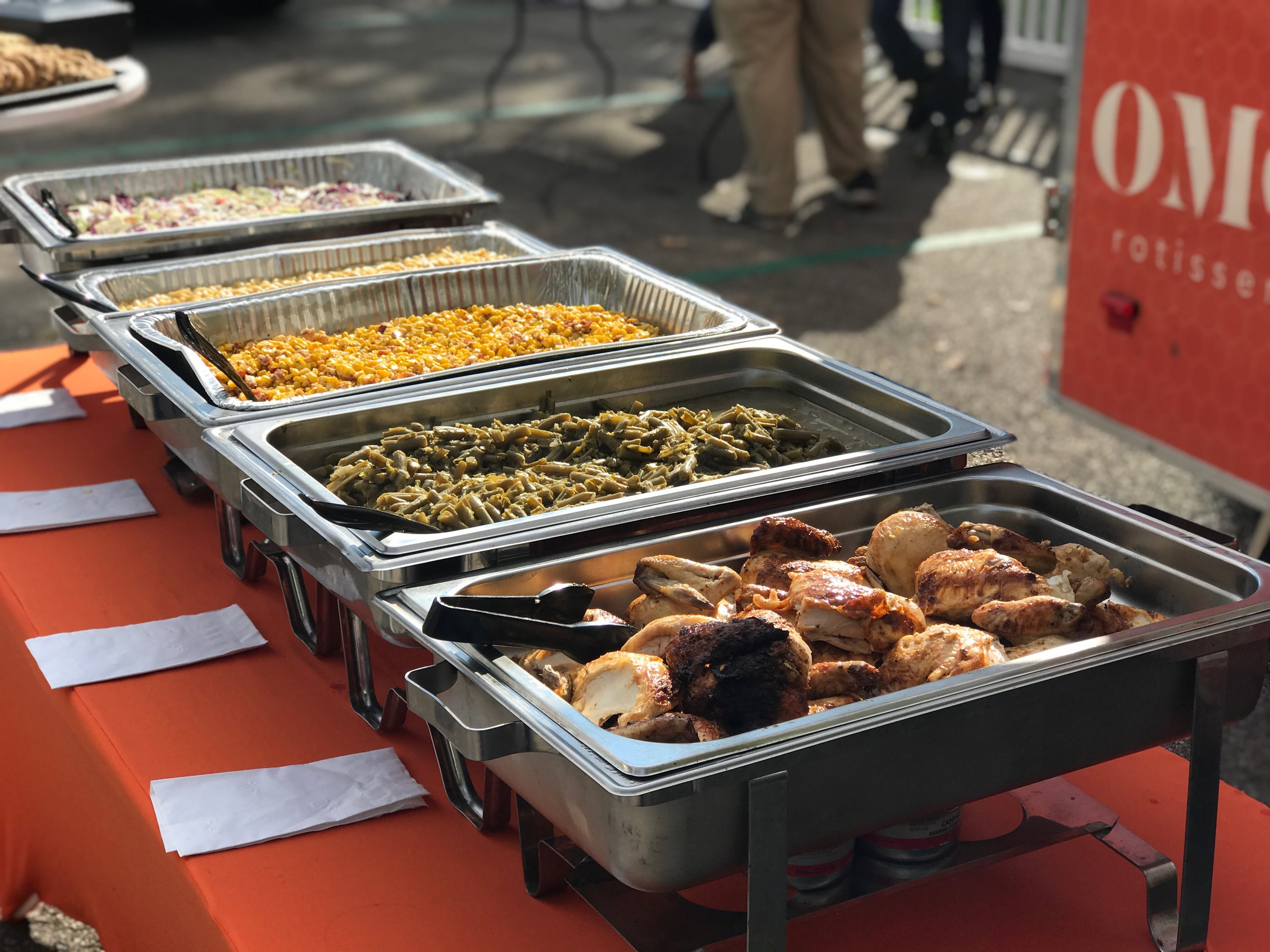 Bulk Ordering - Bulk ordering is a cost-effective way to leave your guests speechless. Our bulk food menu includes everything sold in the restaurant but with quantity discounts.Minimum $150 order.