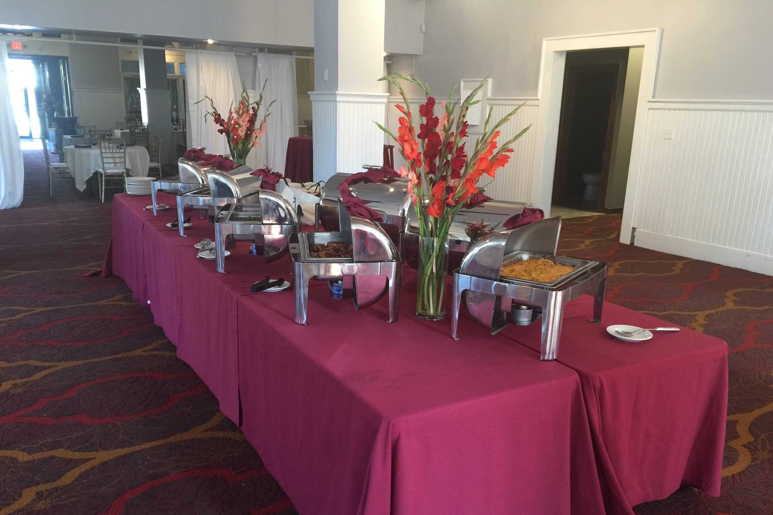 Full-Service - This all-you-can-eat, expanded menu is priced per person. This is ideal for weddings and corporate functions that require a higher-end service.Minimum headcount of 50.