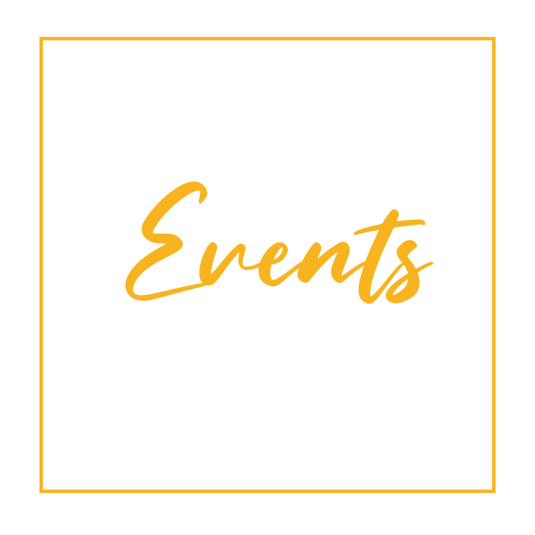Click here to find out about our upcoming events!