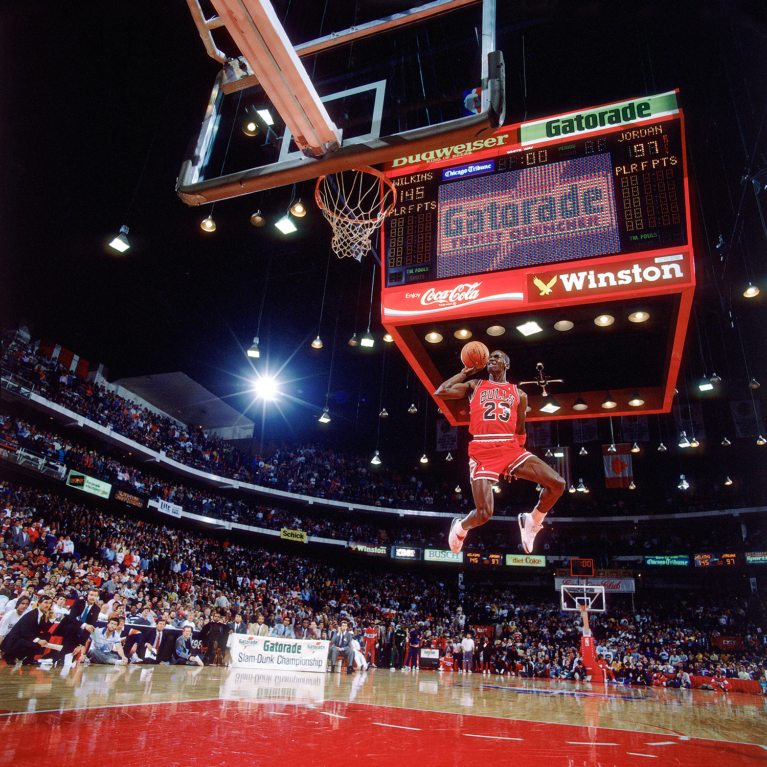 The Slam Dunk, Michael Jordan, 1988