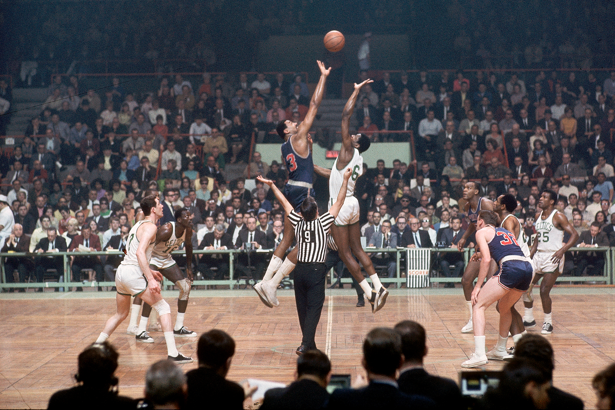 Sixers vs. Celtics, 1967