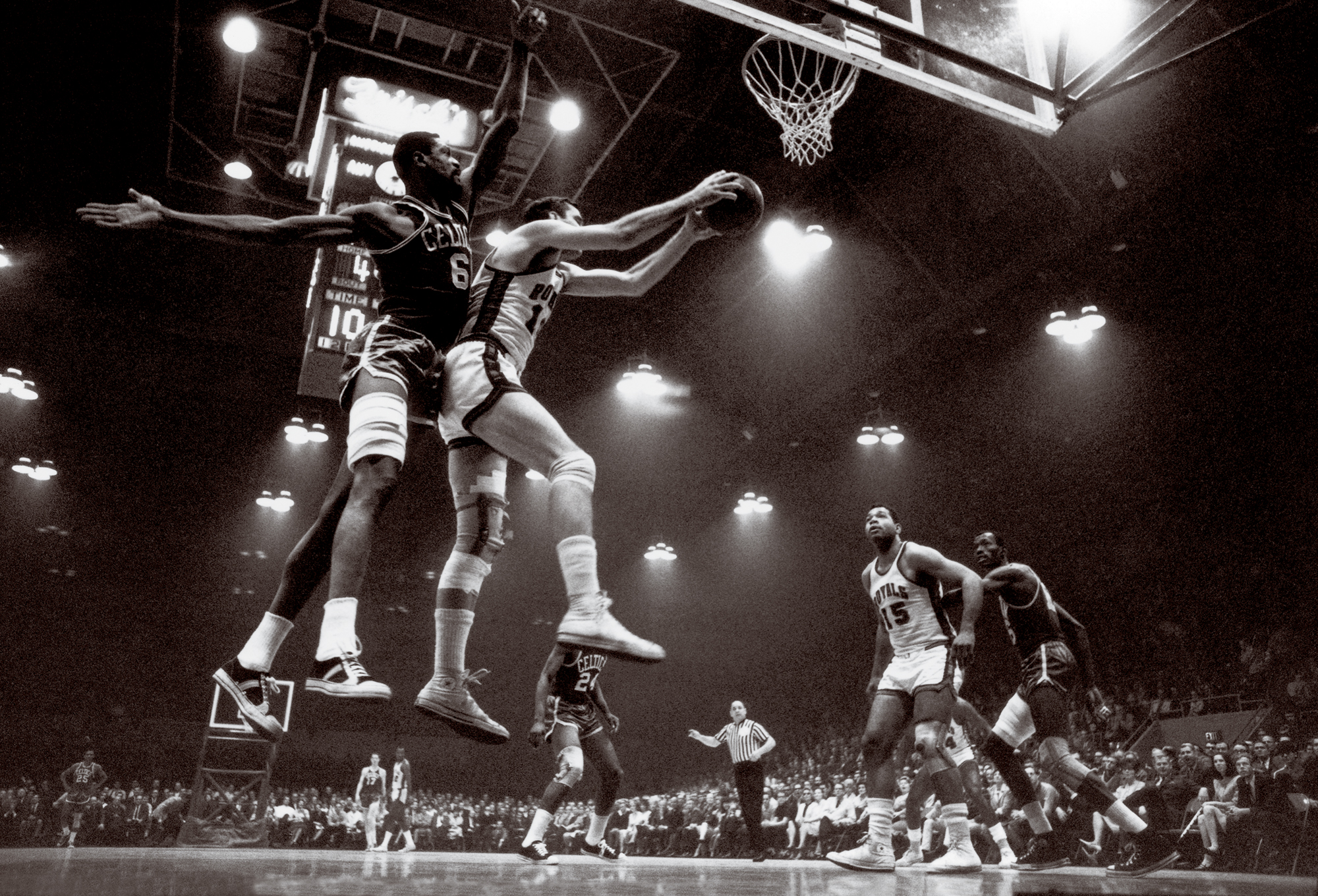 Bill Russell & Jerry Lucas, 1966