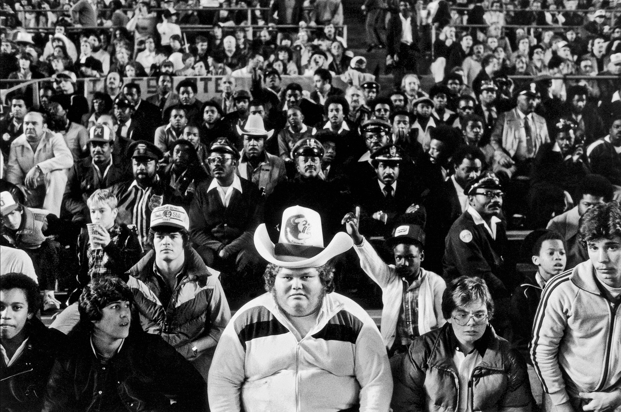 Fans at The Orange Bowl, 1981