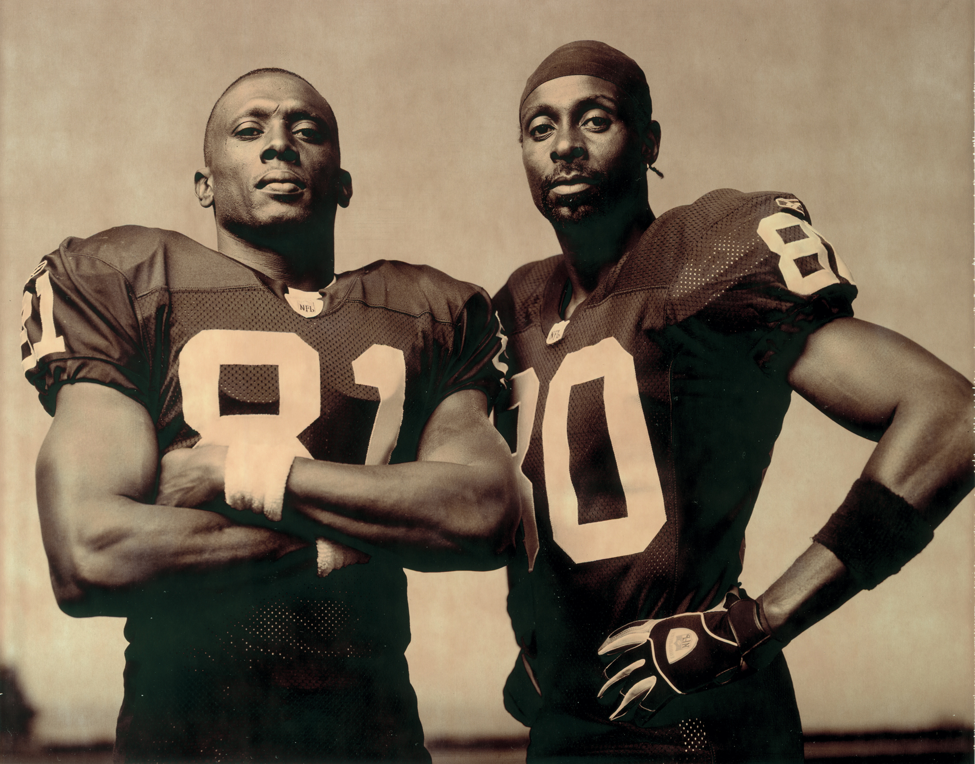 Tim Brown & Jerry Rice, 2002