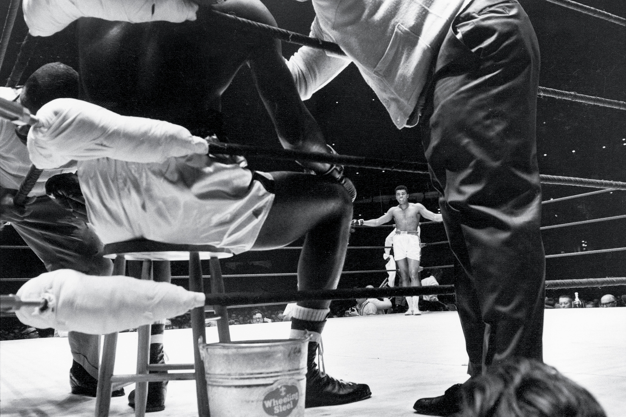 Muhammad Ali & Earnie Terrell, 1967