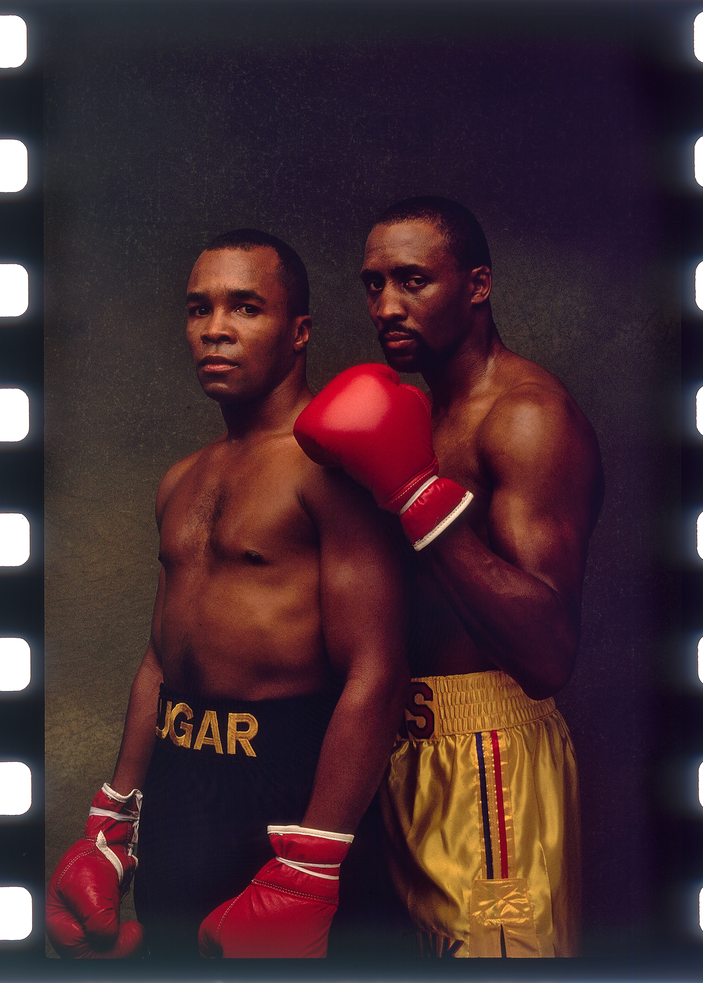 """Sugar Ray"" Leonard & Thomas ""Hitman"" Hearns"