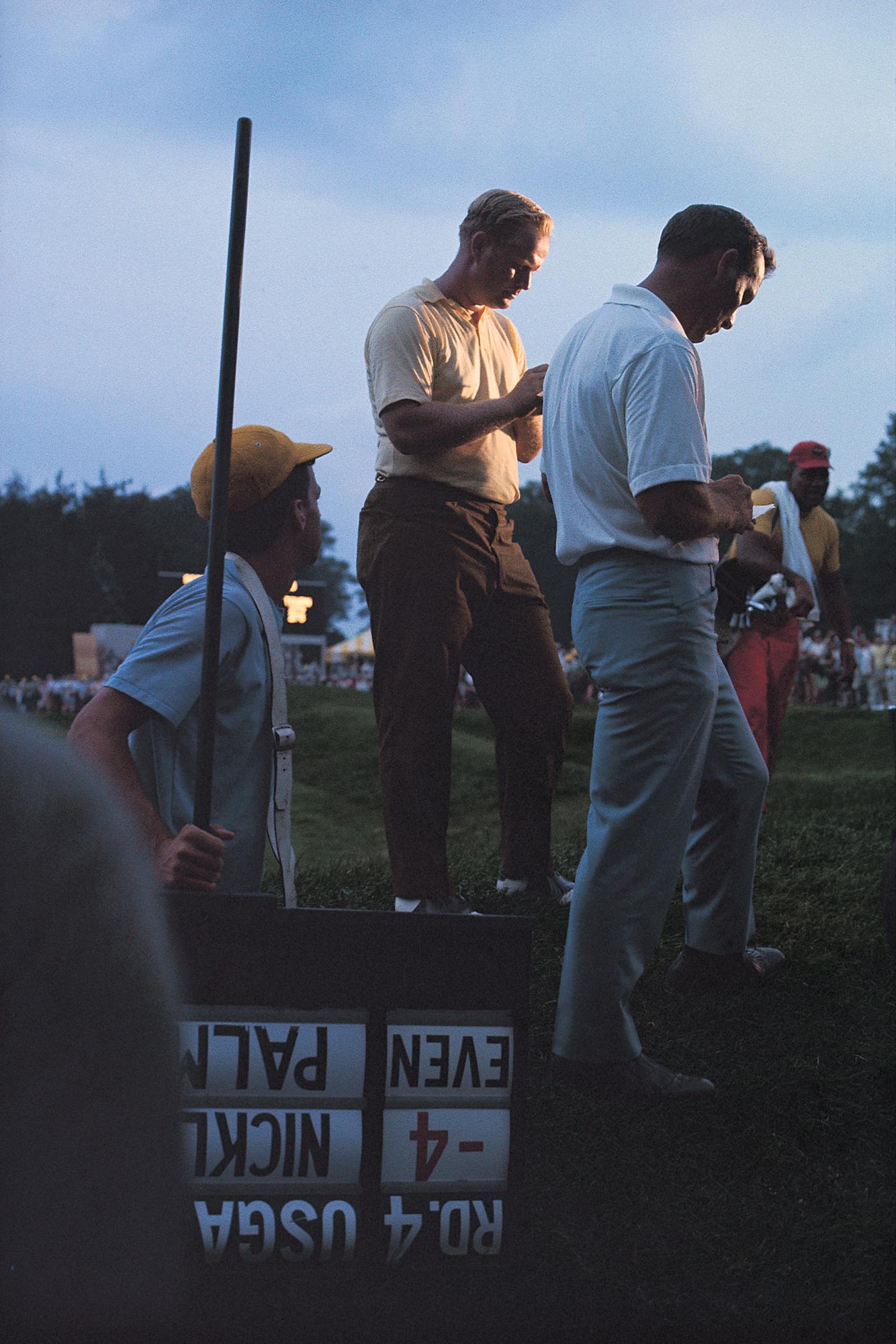 Jack Nicklaus & Arnold Palmer, 1967