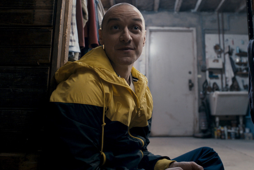 James McAvoy in  Split , photo by John Baer, courtesy of Universal Pictures