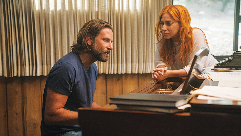 Bradley Cooper & Lady Gaga in  A Star is Born,  courtesy of Warner Bros. Pictures