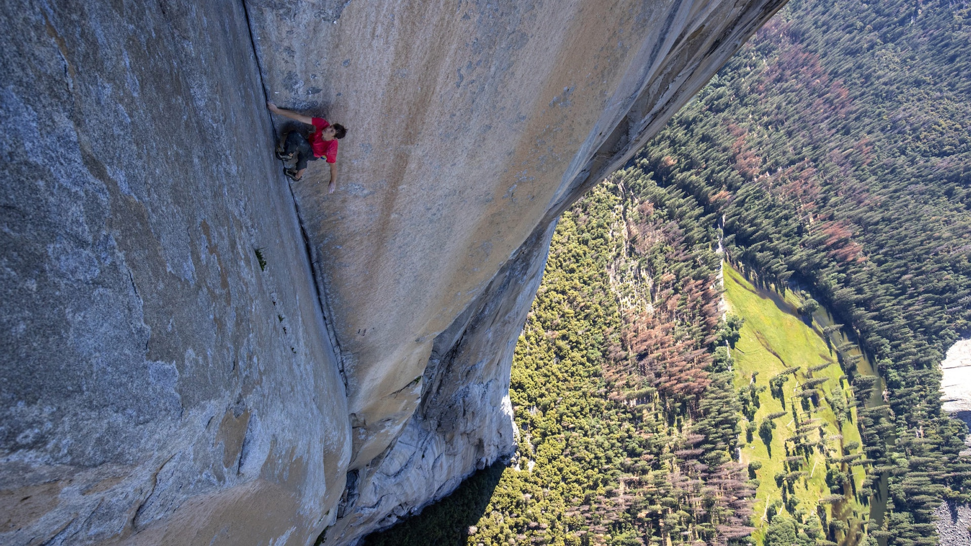 Free Solo,  photo by Jimmy Chin, courtesy of National Geographic