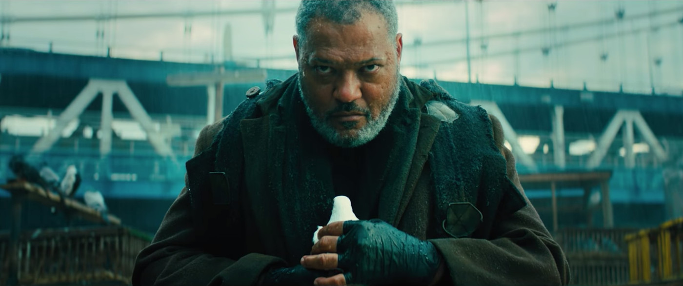Laurence Fishburne in  John Wick: Chapter 3 - Parabellum,  courtesy of Lionsgate