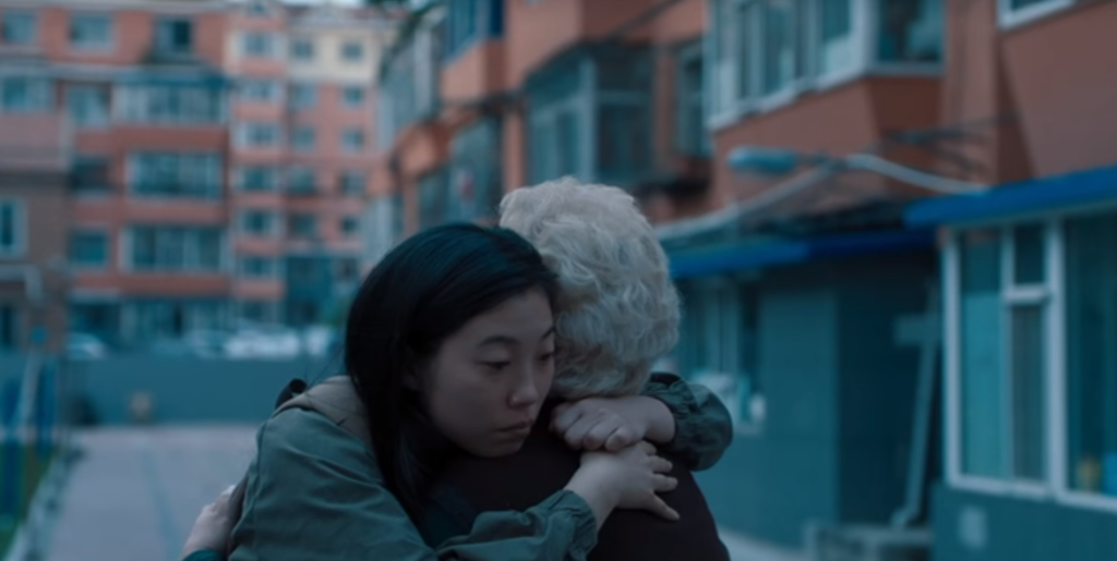 Awkwafina & Shuzhen Zhao in The Farewell, courtesy of A24