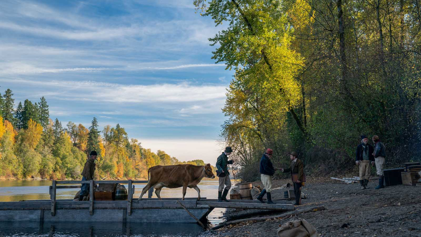 First Cow,  photo by Christopher Blauvelt, courtesy of A24