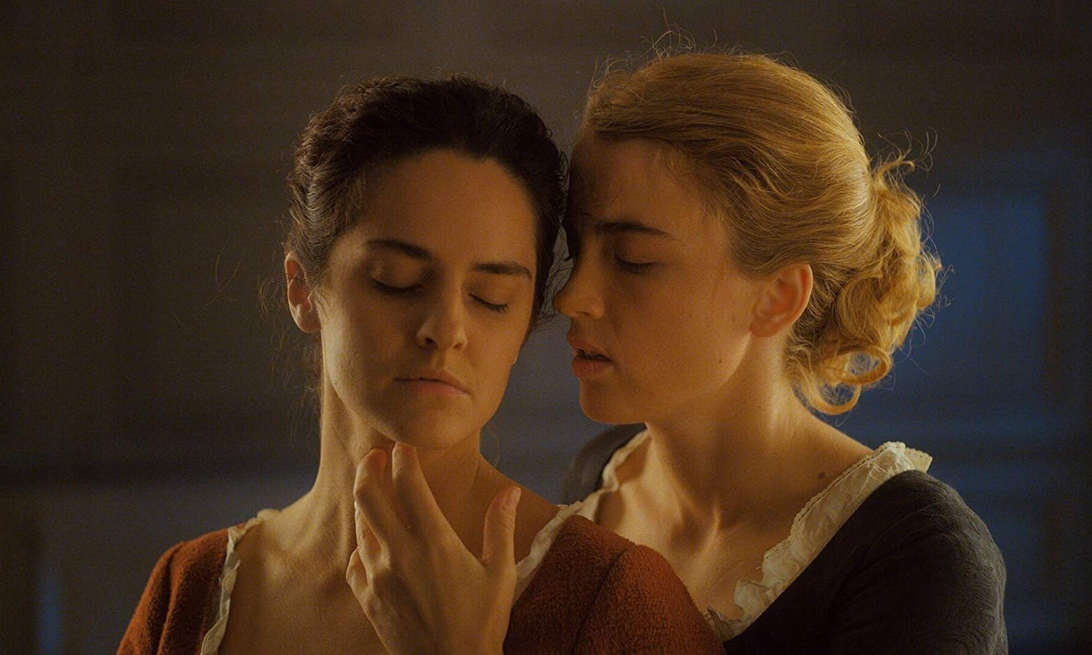 Noémie Merlant and Adèle Haenel in Portrait of a Lady on Fire, photo by Claire Mathon, courtesy of Neon & Lilies Films