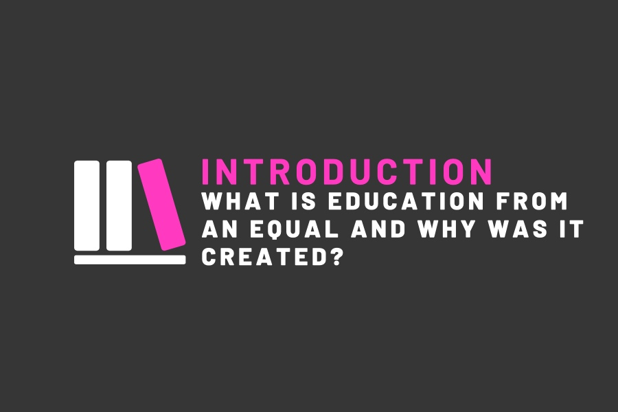 WHAT IS EDUCATION FROM AN EQUAL AND WHY WAS IT CREATED? - This is the introductory episode for the podcast, formatted as a discussion of my personal experience with a lacking health curriculum and my reasoning for creating the podcast. We discuss the empowering nature of education and the importance of taking your future into your own hands. Visit the ABOUT page to learn even more about the podcast or its creator!