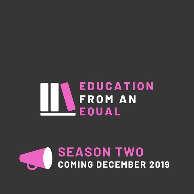 SEASON TWO IS COMING SOON. Listen to the Season Two trailer on my website, and check Spotify and Apple Podcasts for availability soon. Check back December 15th for the first episode, featuring Eryn Rhodes, a student from Texas. - - - - - #podcast #podcastlife #smallpodcast #podcaster #empowerment #education #educateyourself #empoweryourself #student #educationfromanequal #equal #highschoolcurriculum #nationalcurriculum #critical #critique #curriculum #healthclass #highschool #student #texas