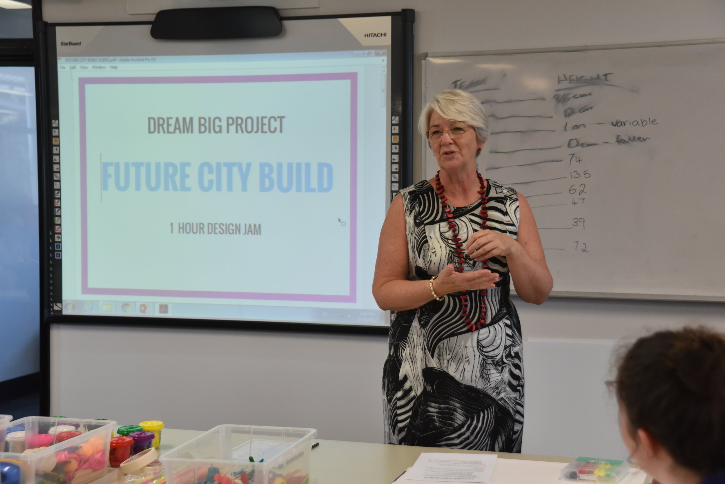 2017 Dream Big Event:  Future City Build with Rockhampton Mayor, Margaret Strelow