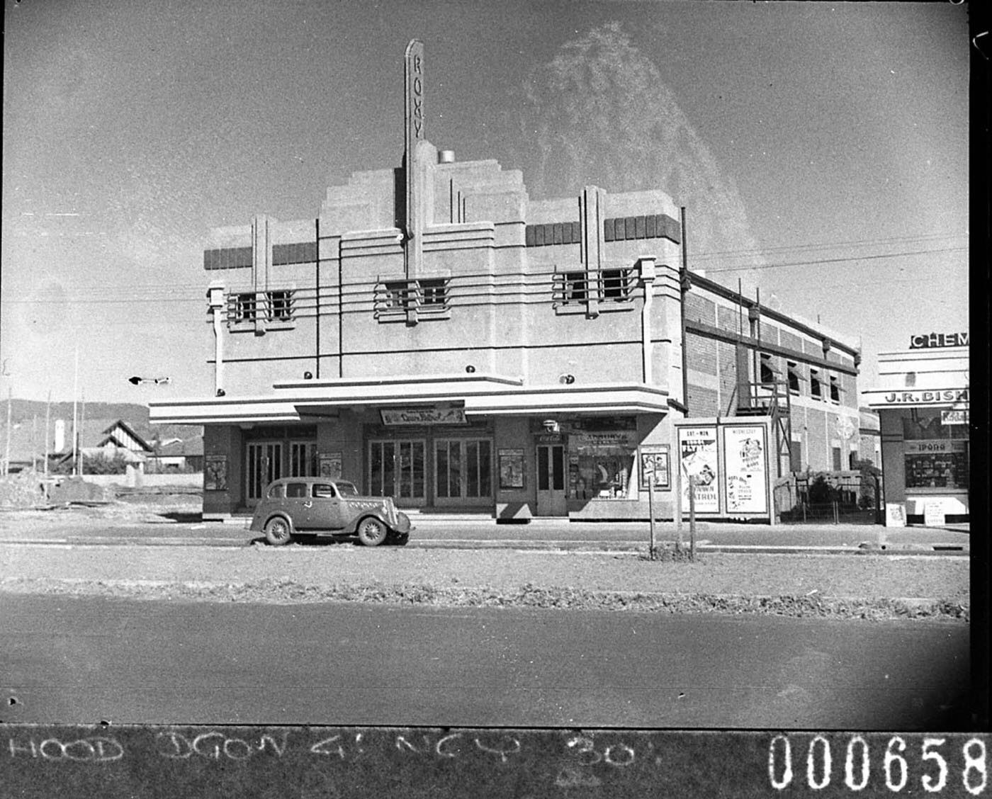 "Our beautiful studio captured 2 years after it originally opened as a picture theatre.   📷Photographer: Samuel John Hood *October 1939 File:SLNSW 12365 The Roxy Picture Theatre Everard Park South Australia taken for BHP on Adelaide Whyalla trip.jpg  ✨Did you know? The Roxy Centre originally opened in October 1937 and was built to cater for residents in the expanding Glandore district at the time with a seating capacity of just over 1,000. ""Piccadilly Jim"", a popular M.-G.-M. comedy, was presented as the feature on the bill for the gala premiere."