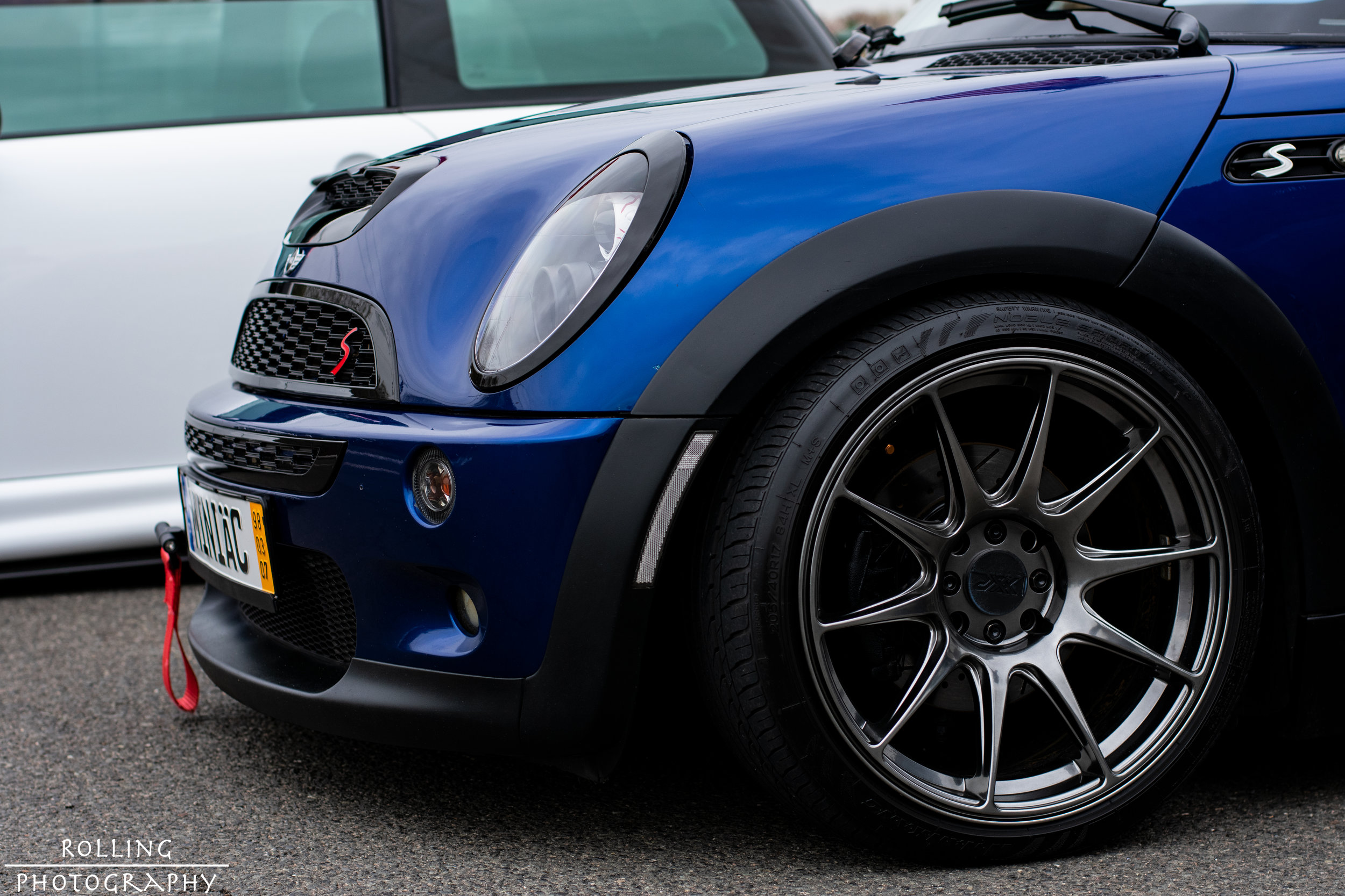 2003 MINI Cooper S (R53)  @blue_coop_r53   ISO 200, 50mm, f / 4.5 Shutter Speed 1/320