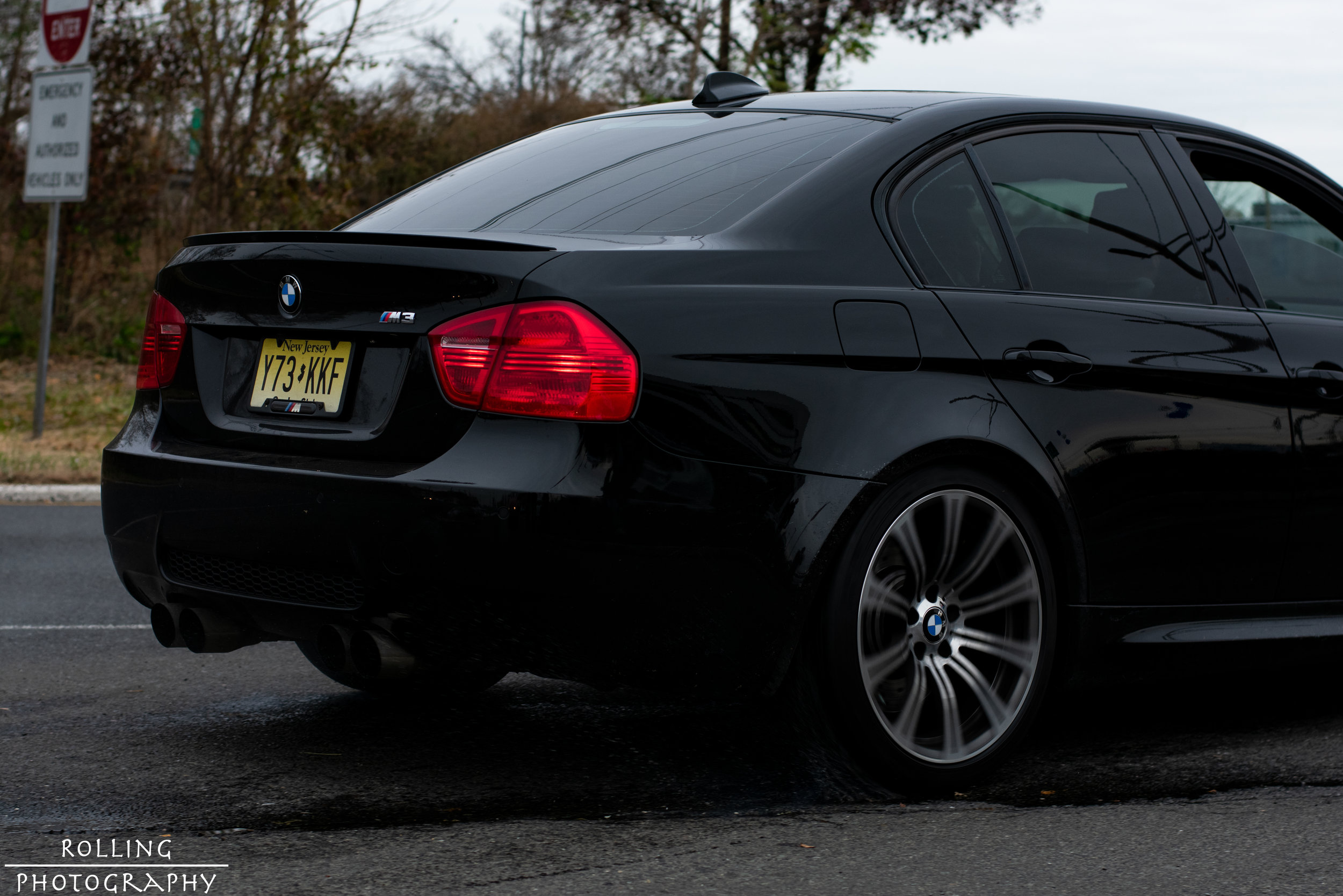BMW M3 Sedan (E90)  ISO 200, 50mm, f / 4.5 Shutter Speed 1/640