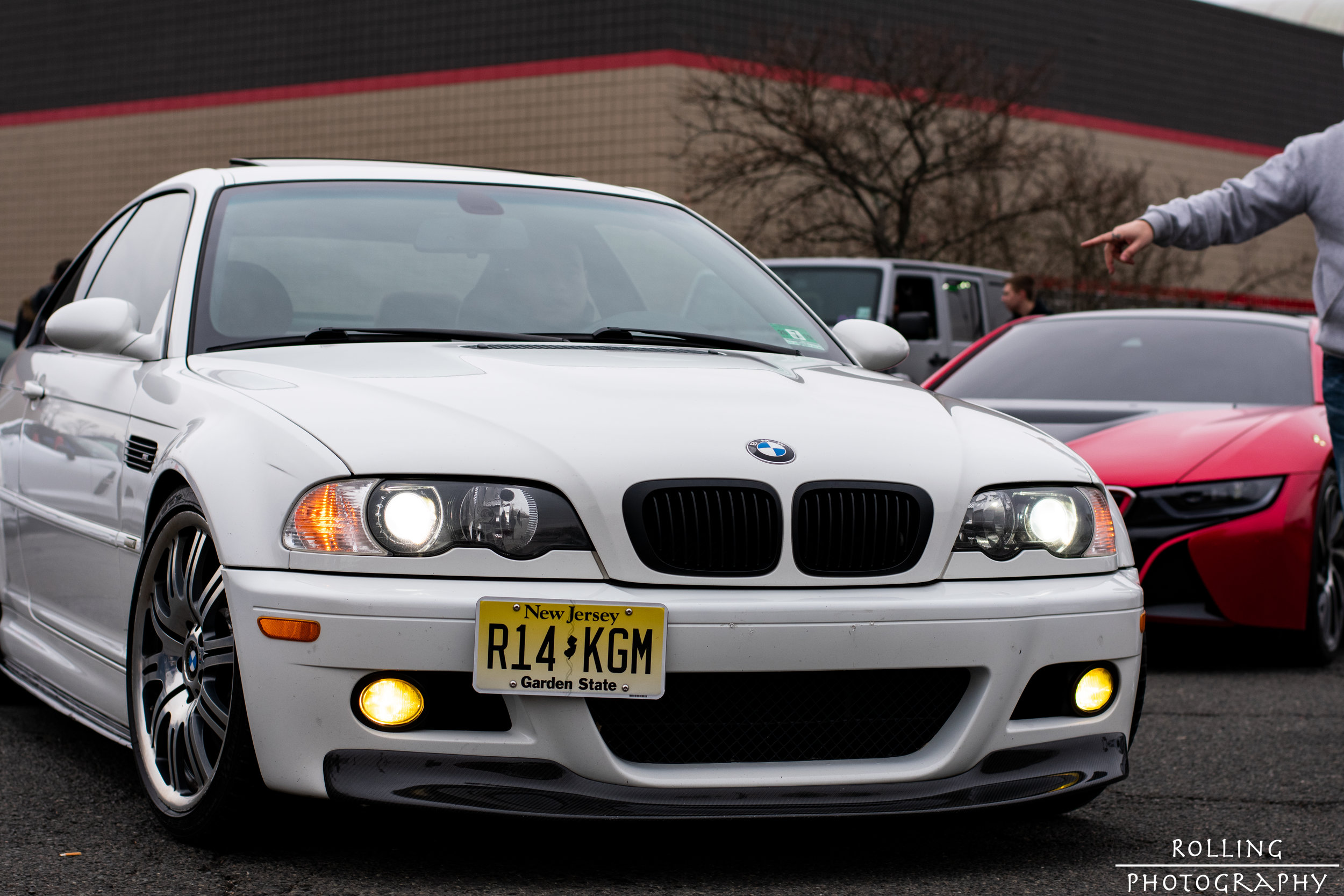 BMW M3 (E46) (White)  ISO 200, 50mm, f / 4.5 Shutter Speed 1/640