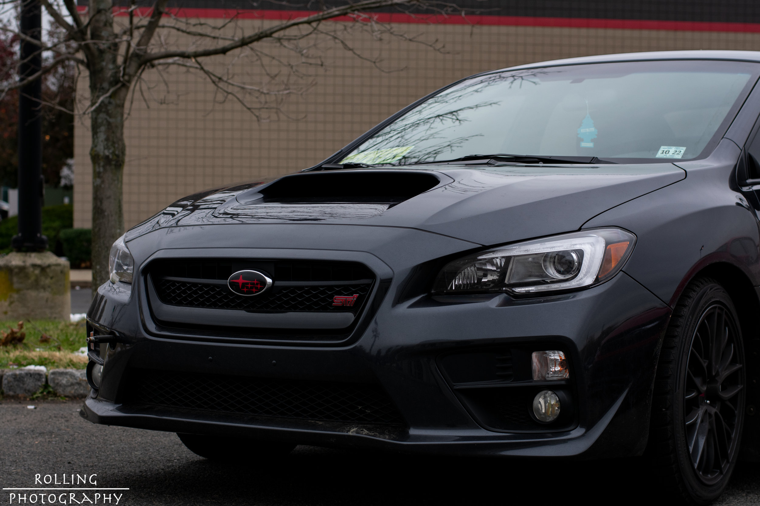 Subaru WRX STI (Grey)  ISO 200, 50mm, f / 5.0 Shutter Speed 1/640