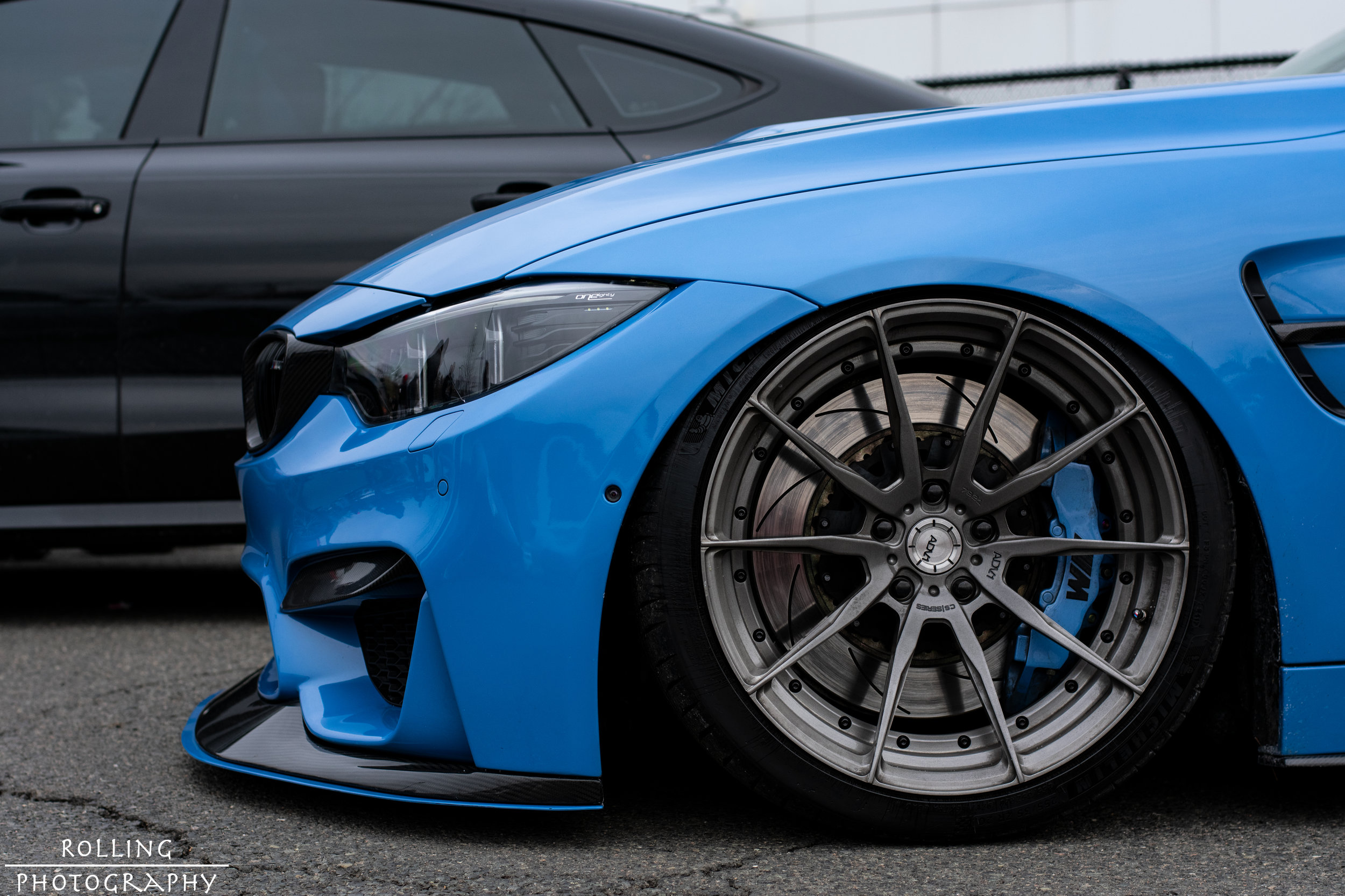 BMW M4 Coupe (F82) (Yas Marina Blue)  @strictly_stance   ISO 200, 50mm, f / 4.5 Shutter Speed 1/640