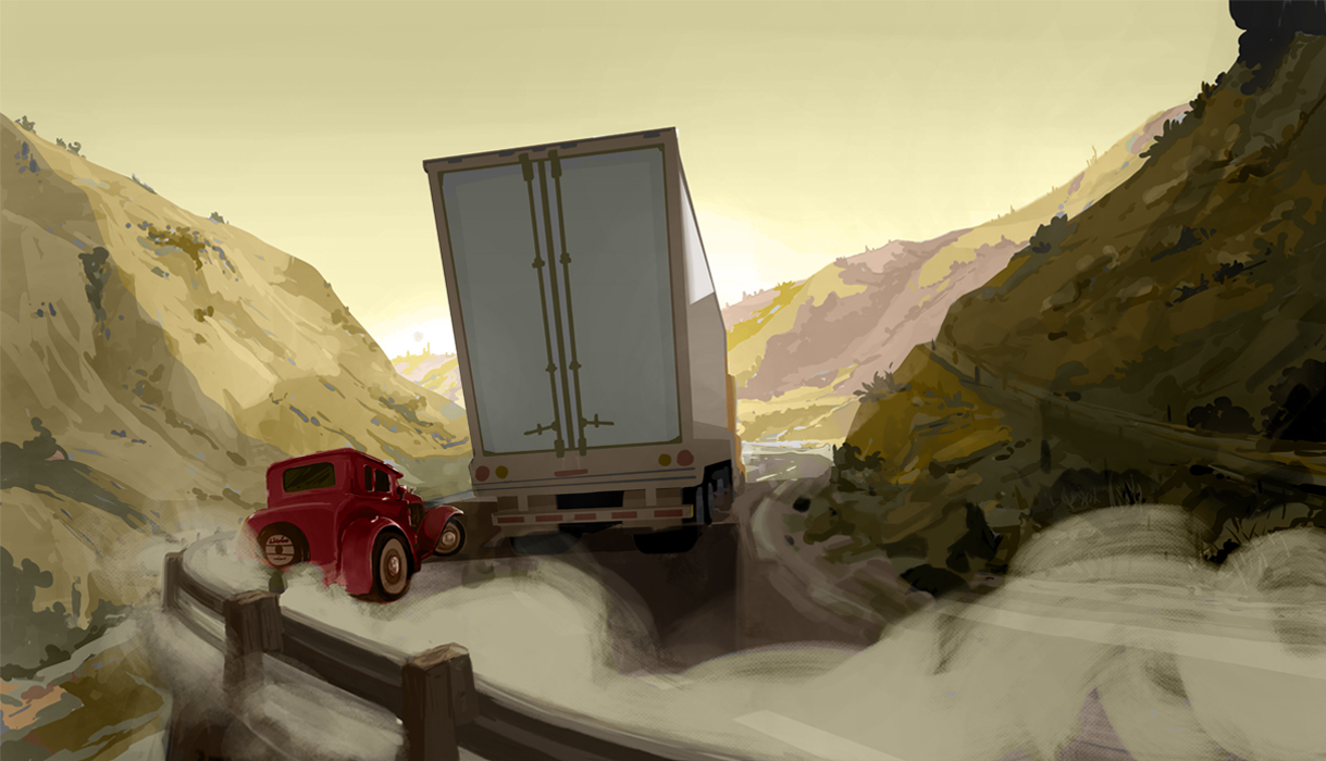 Backgrounds & Layouts/ Prop Design -