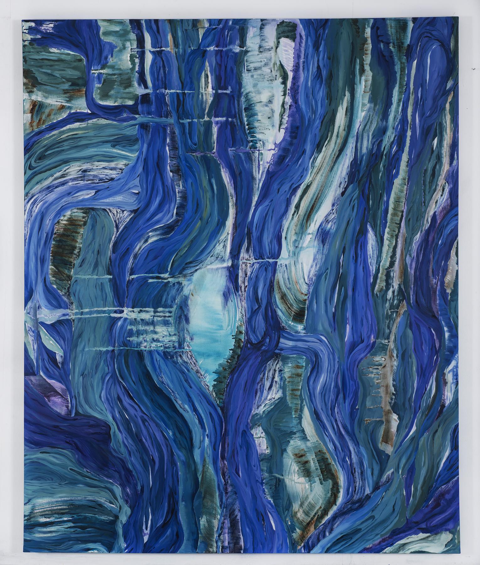 Inner landscape I. oil on canvas,184x150cm.2017