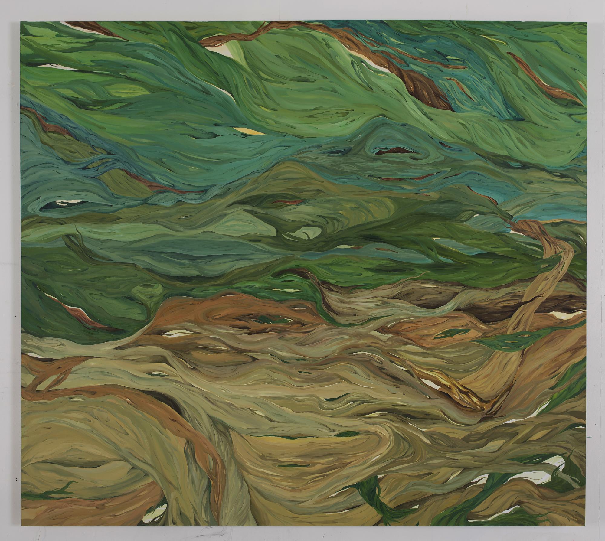 oil on canvas, 200x180cm.2015