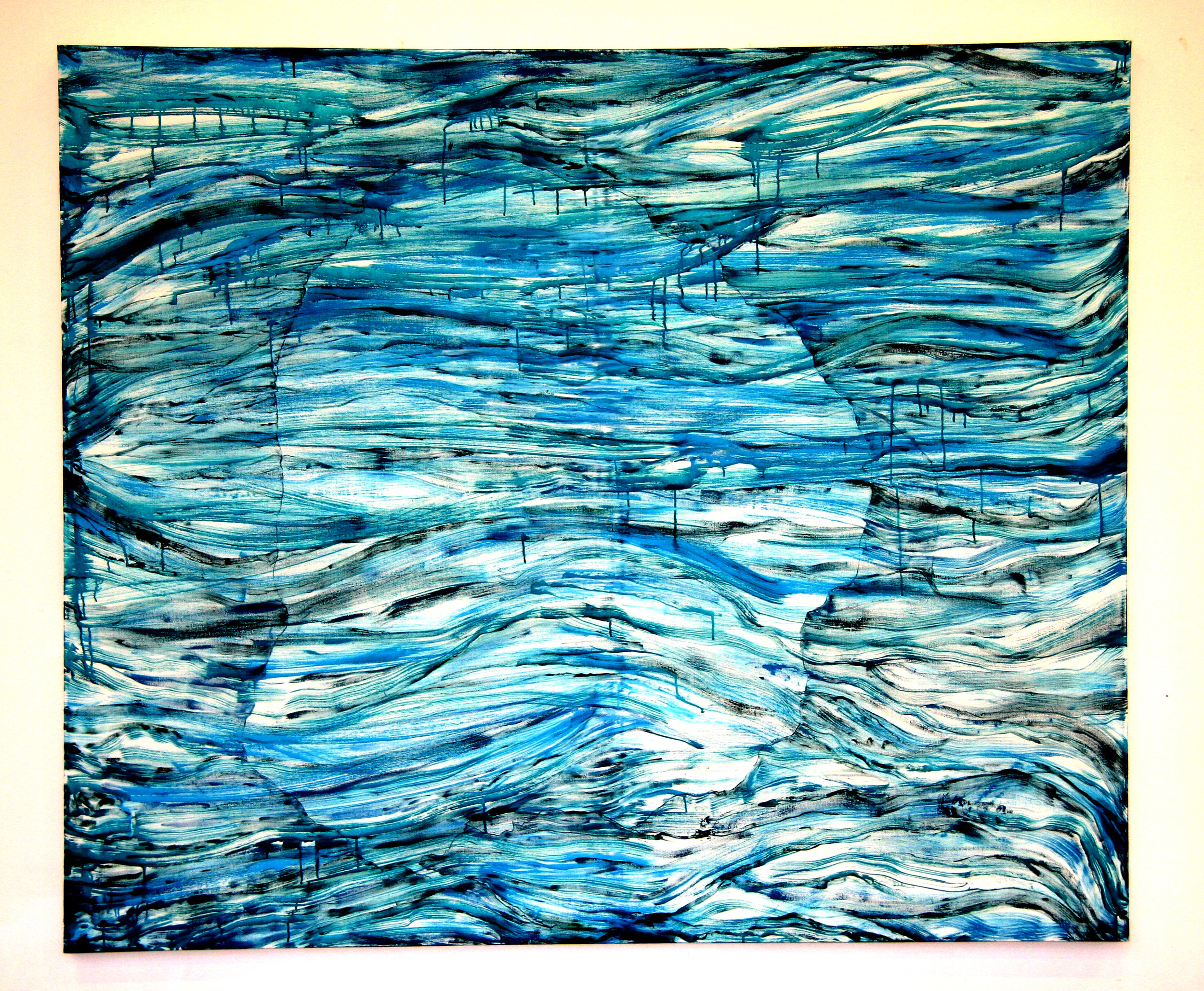 acrylic on canvas. W220 x H180 cm. 2009