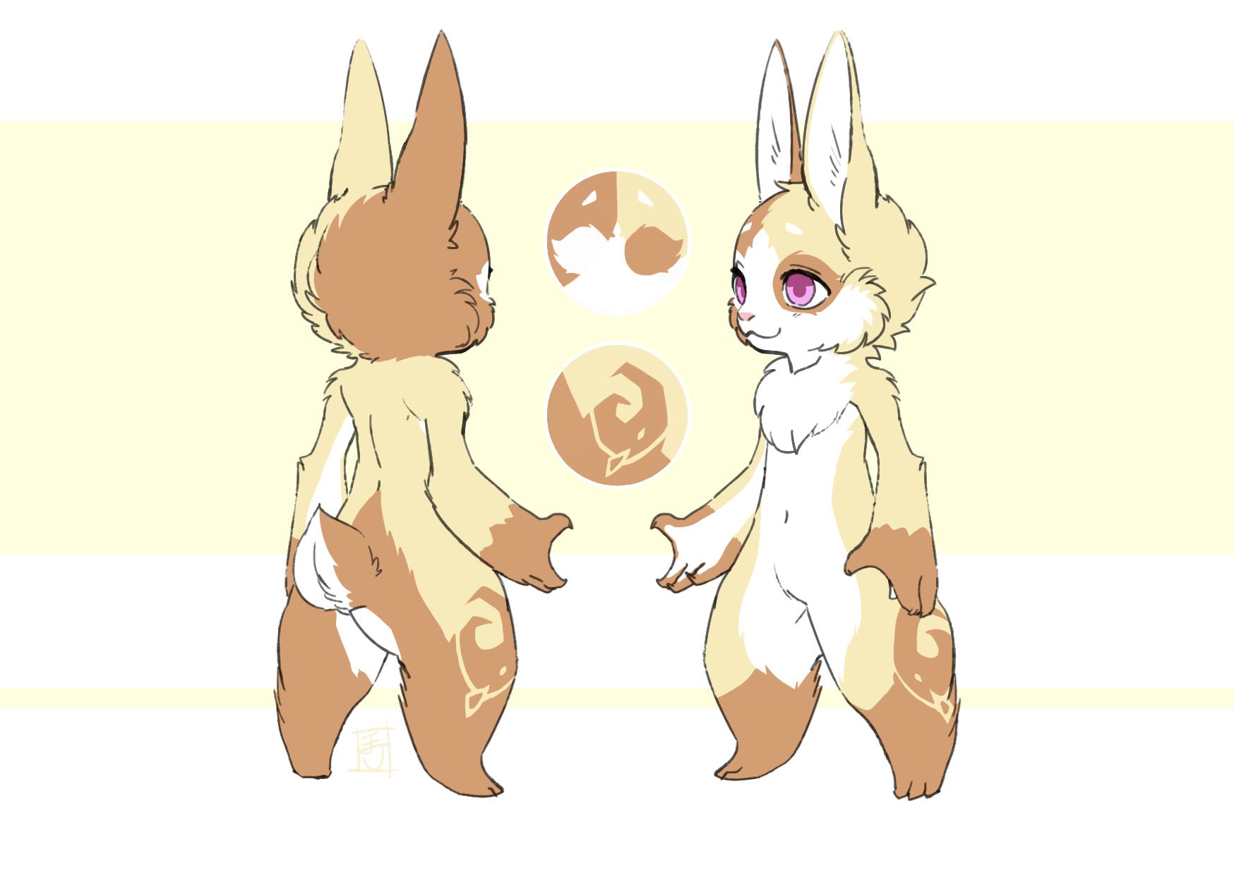 柯拉 (兔) - 負責餐點服務的服務兔