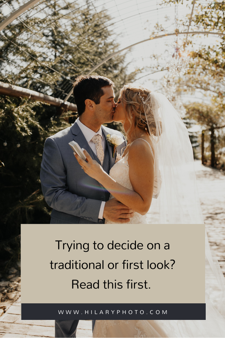 Trying to decide on a traditional or first look? by Hilary Kao Photo. This blog post includes wedding details, bridal fashion, groom fashion, bride and groom portraits. Book your Destination wedding and browse the blog for more inspiration #photography #weddingplanning #weddingtips #weddingphotography #weddingphotographer