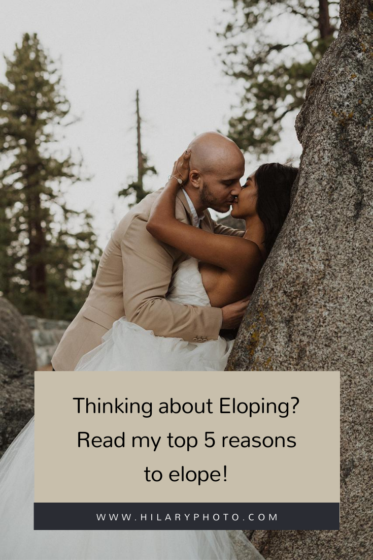 Thinking about Eloping? Read my top 5 reasons to elope! by Hilary Kao Photo. This blog post includes elopement inspiration, bridal fashion, groom fashion. Book your Los Angeles elopement and browse the blog for more inspiration #photography #elopementphotography #LosAngelesphotographer