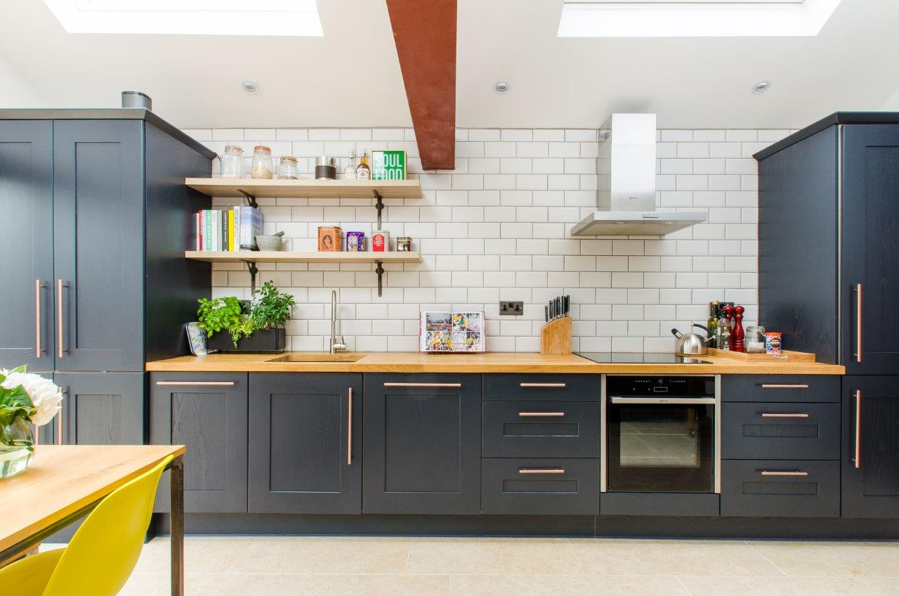 Industrial Kitchen Extension in London