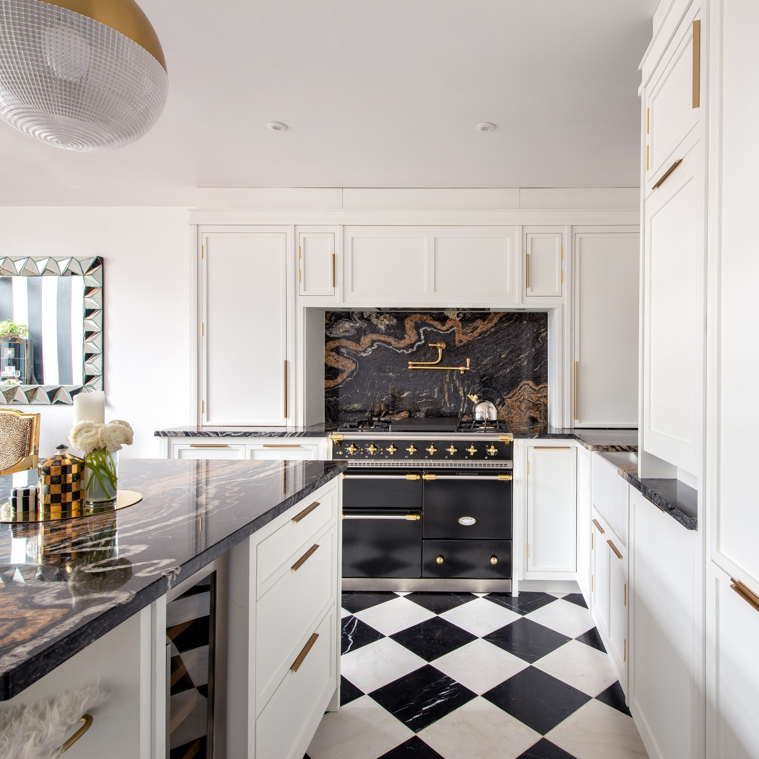 Bespoke Art Deco Kitchen Shoreditch