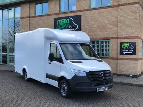 Unregistered - 2019 Mercedes Benz Low Loader, Low Entry Sprinter Luton —  Maxi-Low