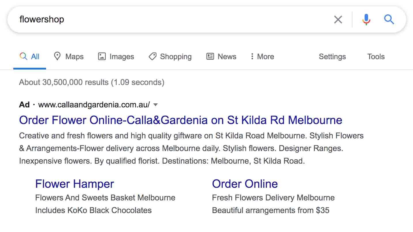 Google AdWords Melbourne 4