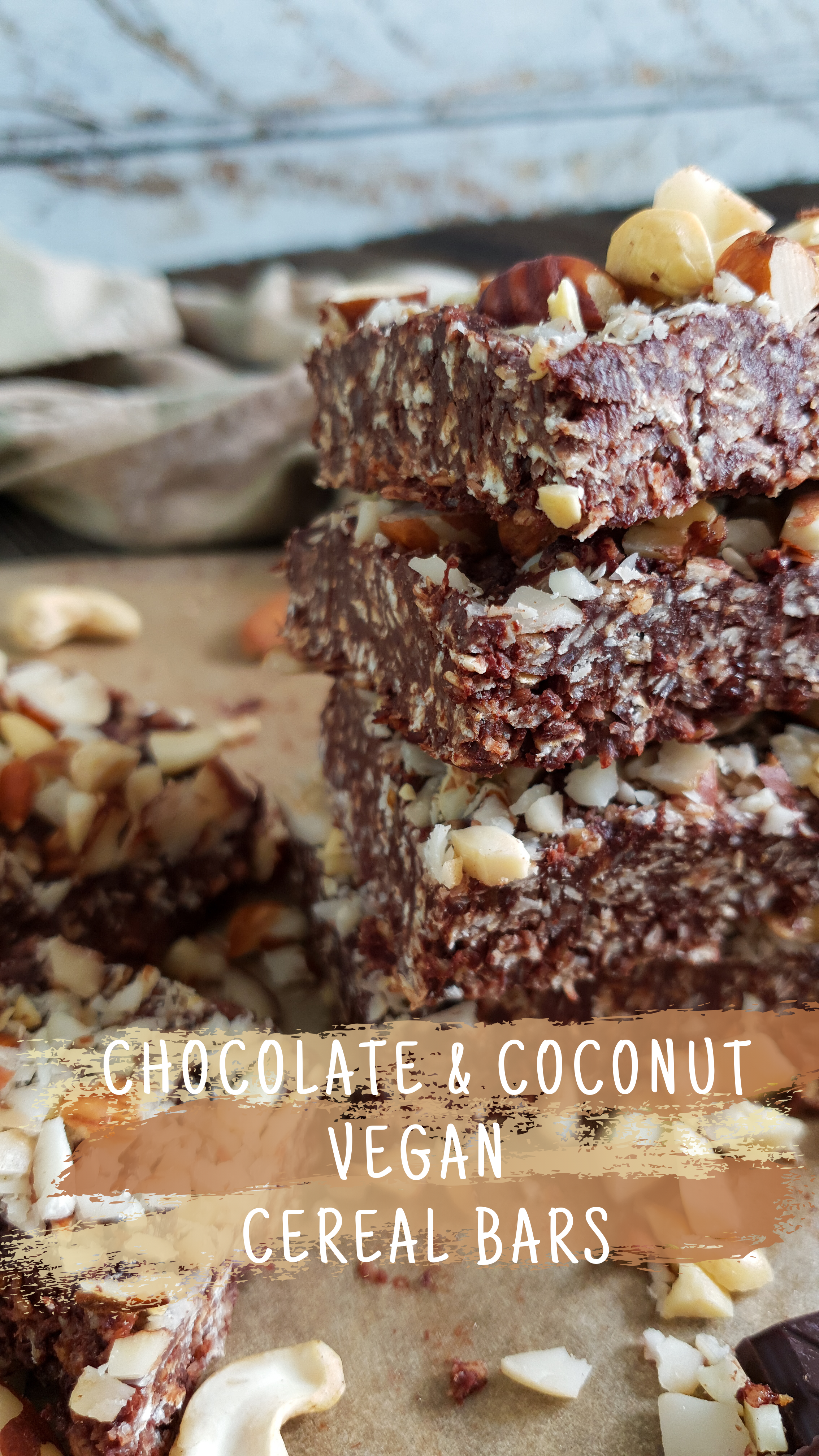 Chocolate & Coconut Cereal Bars