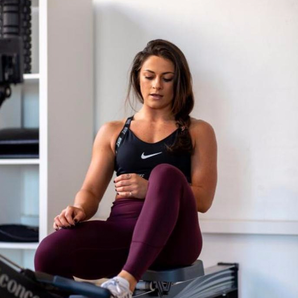 Jen Brydon - Trainer   Strength training is where my passion lies. I love introducing new gym go-ers to exercise they never thought they could do.